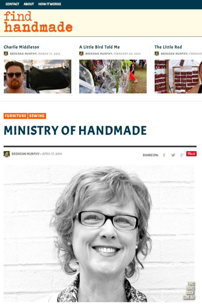 find-handmade-article 17 April 2014