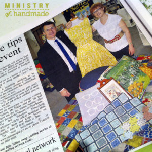 Bayside Star Article - Graham Quirk, Lord Mayor of Brisbane with Julie promoting