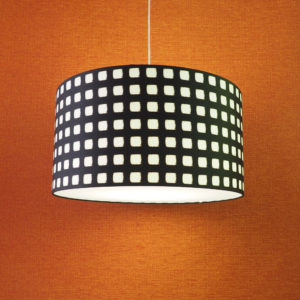 Large Lampshade as Pendant