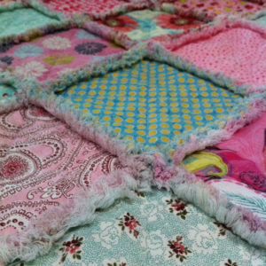 Rag Quilt for Baby