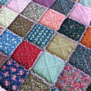 Rag Quilt - fast and easy