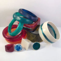 Colourful Collection of Resin Jewellery