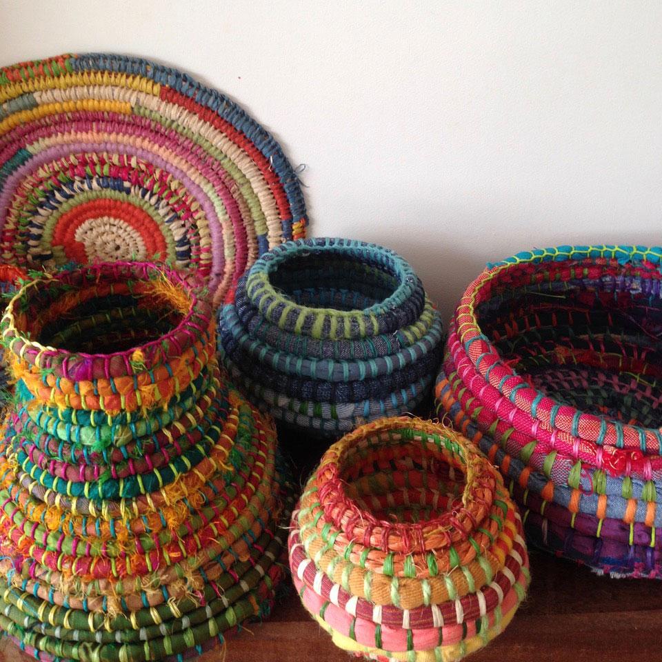 Random Fibre Baskets