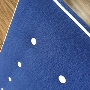 Custom made blue Bed Head