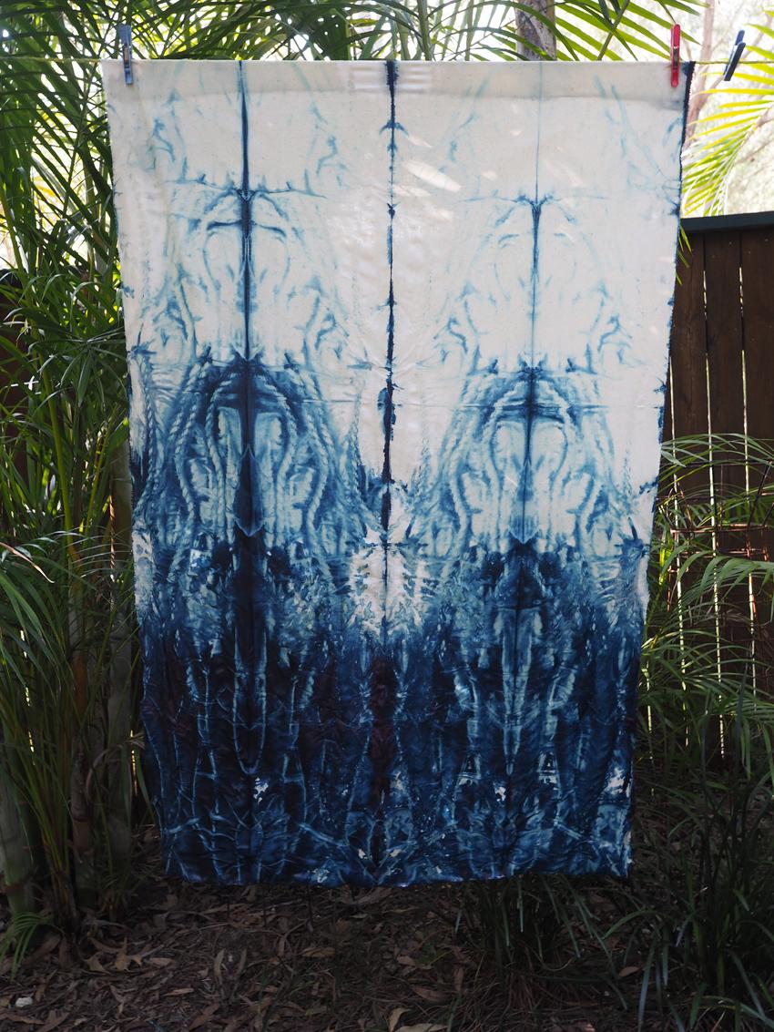 Shibori Indigo DyeingSaturday 17 March