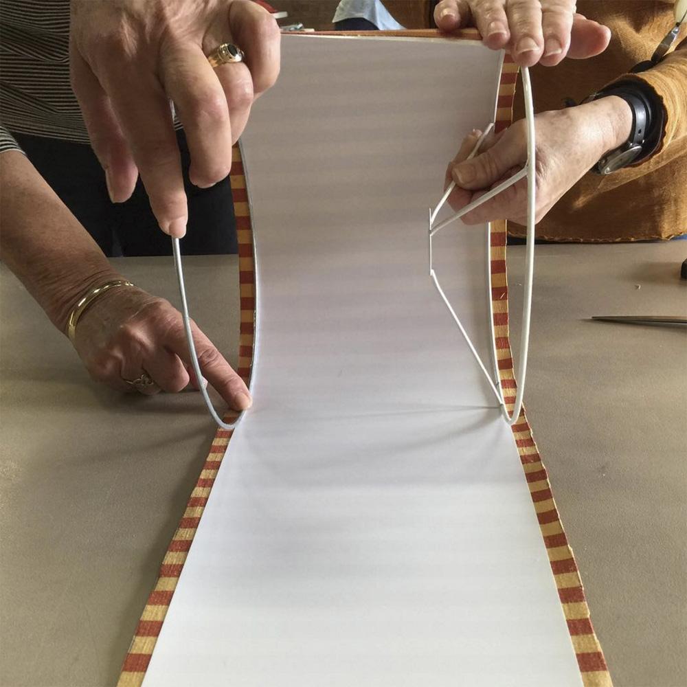 Create wonderful lampshades at Ministry of Handmade