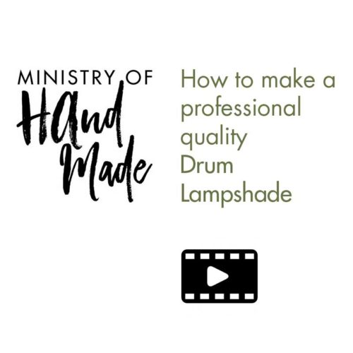 Drum Lampshade Instruction Video
