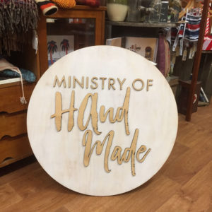 Ministry of Handmade on the road