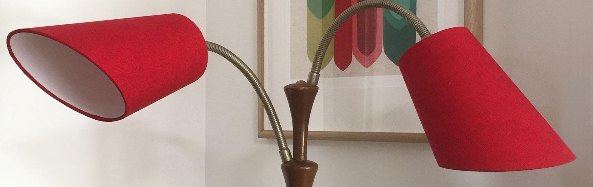 We custom make amazing lampshades
