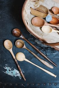 Carol Russell Spoon Carving