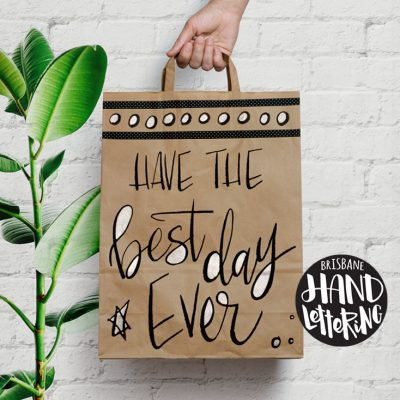 Learn Hand Lettering with Helen Kelly of Brisbane Hand Lettering