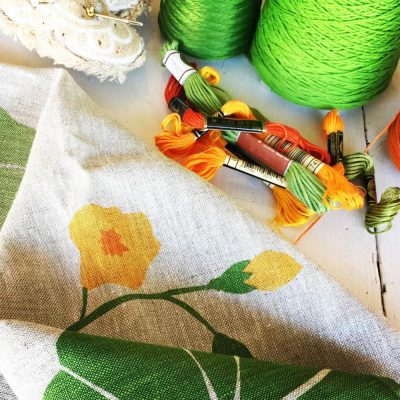 Creative Stitching at Makers Escape