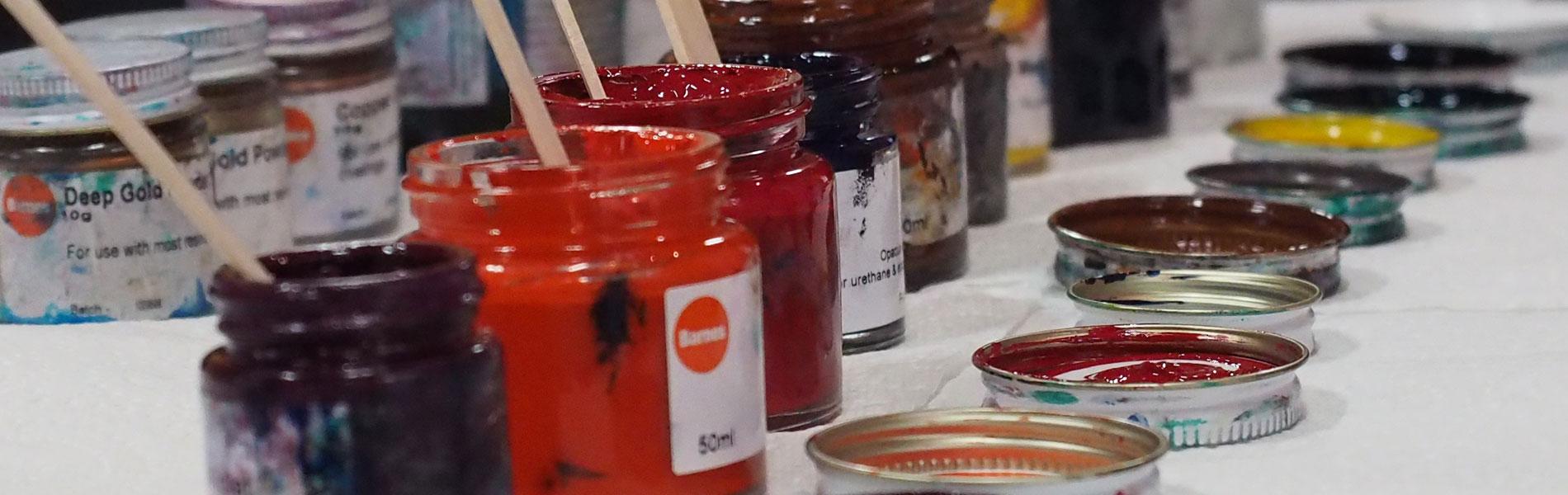 Makers Escape Montville Paint Pots