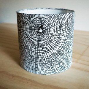 20cm diameter Drum Lampshade by Ministry of Handmade