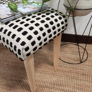 No Sew Bench Seat with tapered timber legs