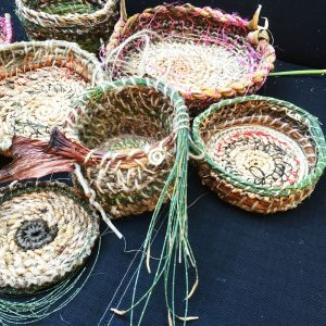 Learn to make baskets from the garden
