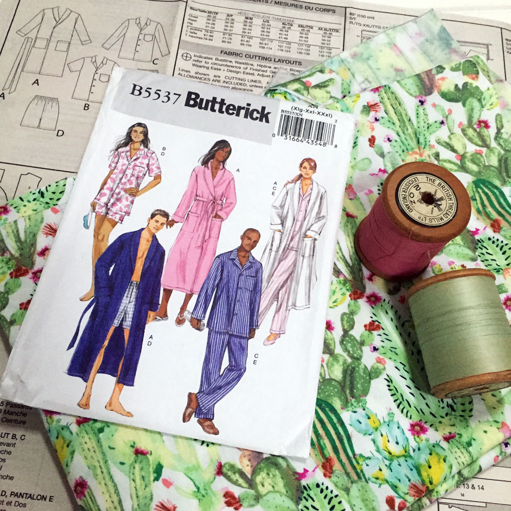 Pyjamas - the sewing party workshop