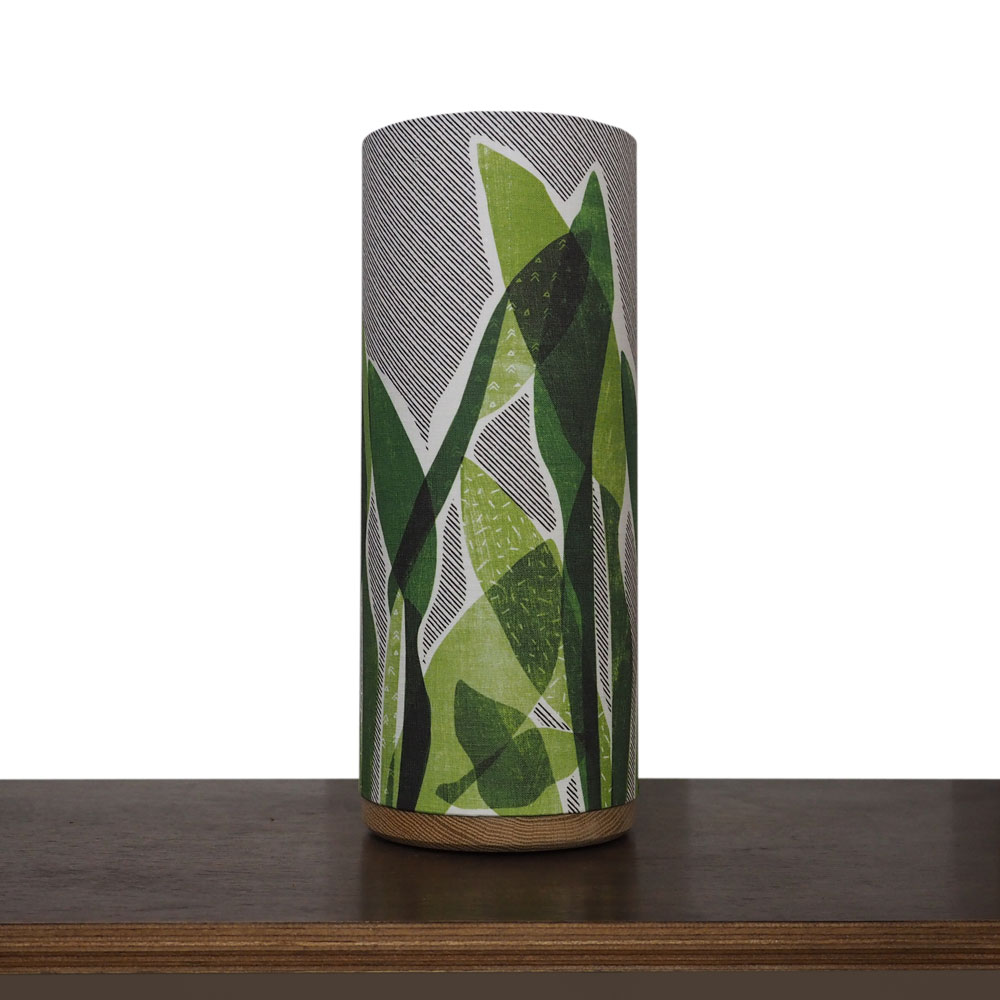 Hero Lamp Kit with Snake Plant fabric