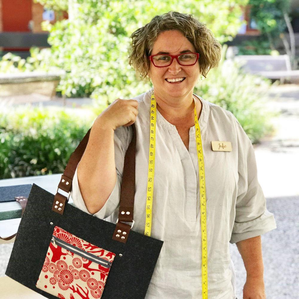 Makers Escape North Brisbane 2018 Bag Making