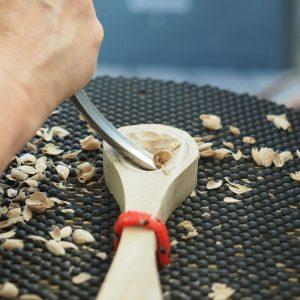 Makers Escape North Brisbane 2018 Spoon Carving