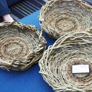 Makers Escape North Brisbane 2018 Wild Basket Weaving