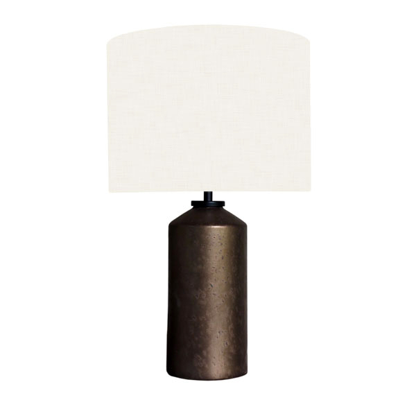 Bronze Ceramic Lamp Base