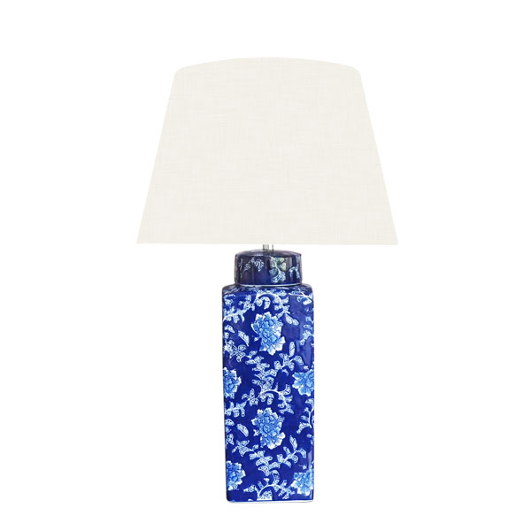 Blue and White Ginger Jar Lamp Base