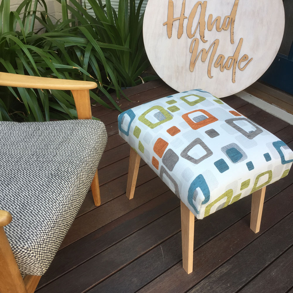 Robin Footstool by Ministry of Handmade