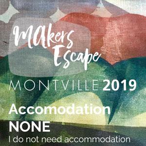 Makers Escape Accommodation Option NONE