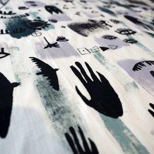 Kodi Jungle Fabric Detail
