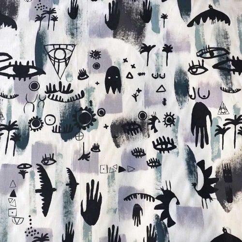 Kodi Jungle Fabric