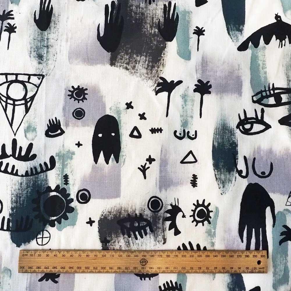 Kodi Jungle Fabric Scale