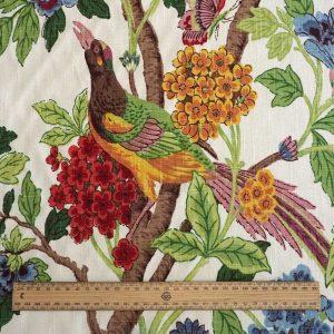 Pheasant fabric scale