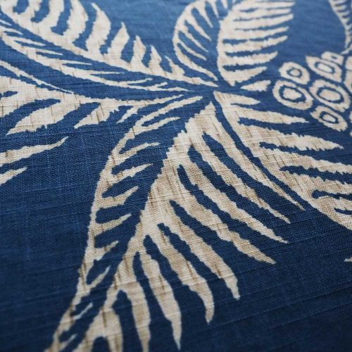 Pina Pineapple Navy Fabric Detail