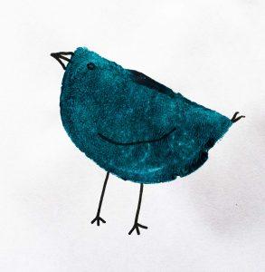 School Holiday Workshop - Creative Potato Printing - Bird
