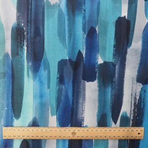 Prana Cobalt Fabric scale