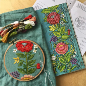 Traditional Polish Embroidery by Kasia Jacquot