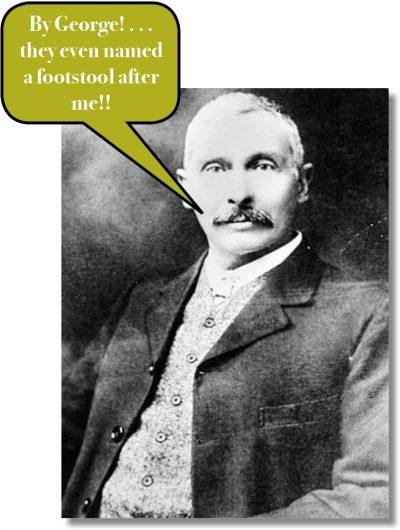 The George Footstool