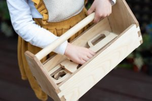 Cubby Days Wooden Toolbox
