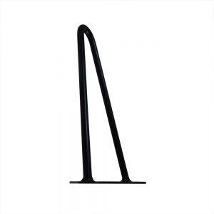 Black Steel Hairpin Furniture Leg