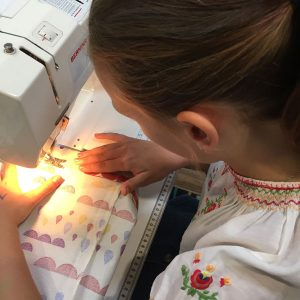 Childrens School Holiday Learn to Sew