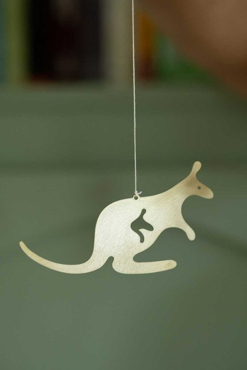 Cubby Days Children's Brass Aussie Animal Mobile