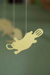 Cubby Days Children's Brass Aussie Animal Mobile