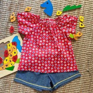 Matilda Top and Shorts set