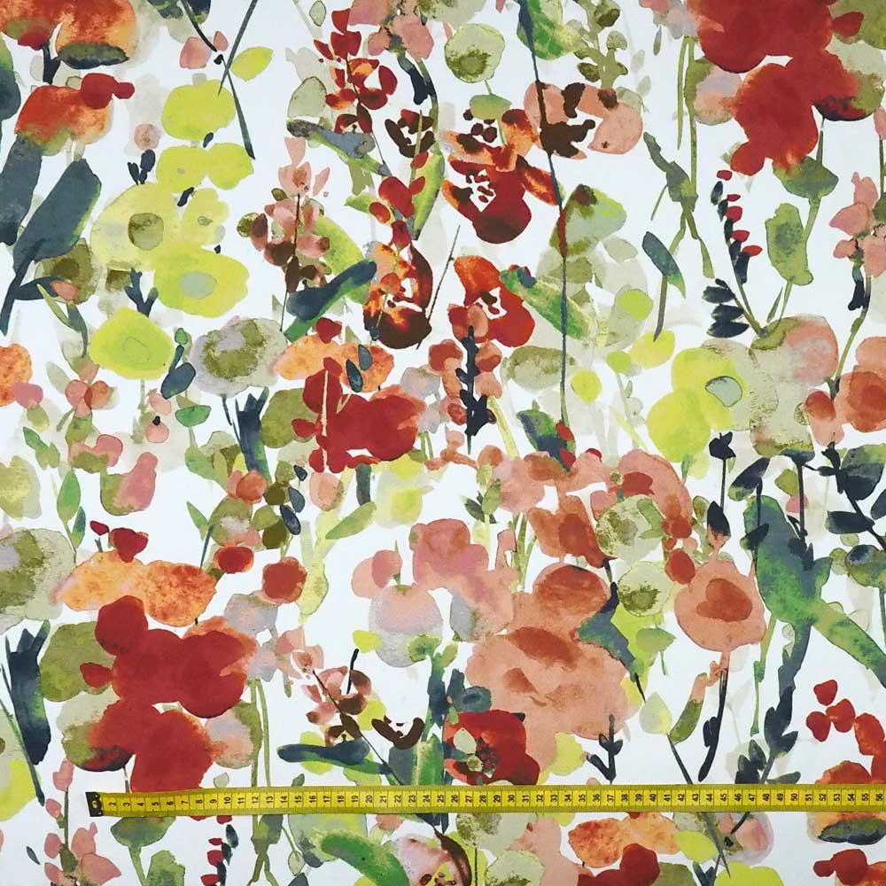 Fabric Ingrid Terracotta