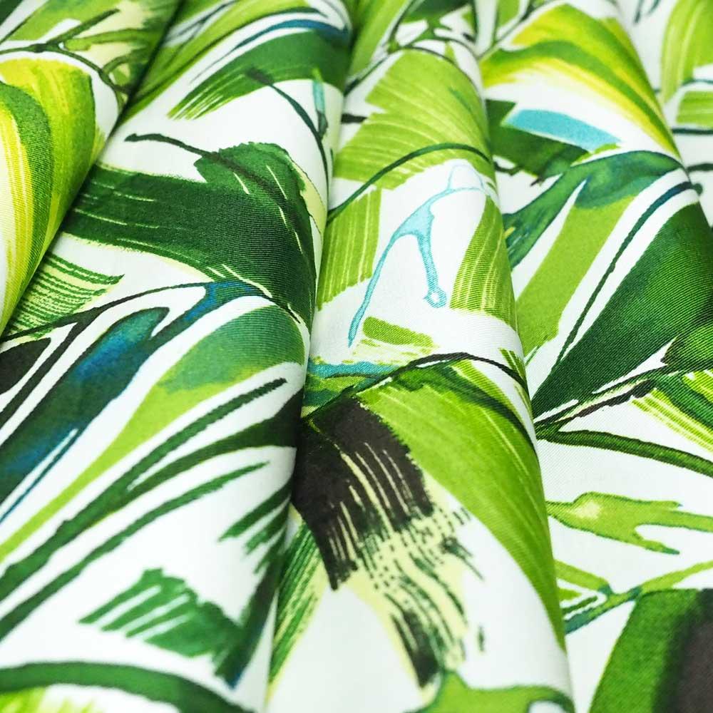 Fabric brushed palms