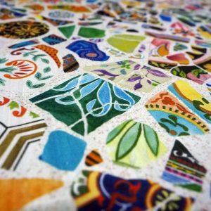 Fabric Crazy Ceramics