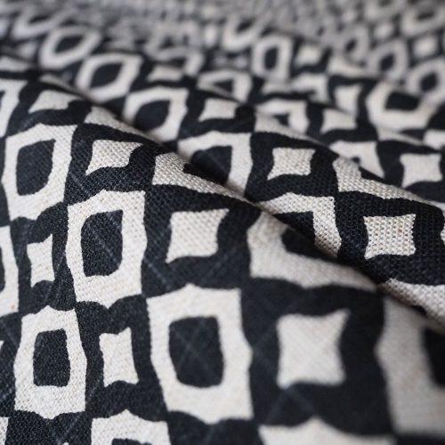 Jaipur Black Fabric