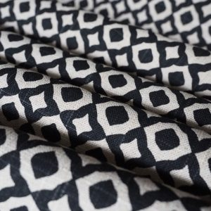 Jaipur Black Fabric