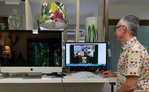 Online workshops behind the scenes